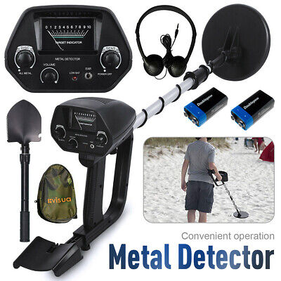 Metal Detector Finds Search Pinpointer Waterproof Gold Hunter Headphone Battery • 44.99£