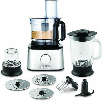 View Details Kenwood FDM302SS Multipro Compact Food Processor, 800 W, Silver • 124.95£