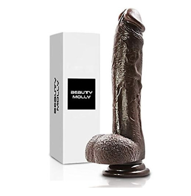 AU30.14 • Buy Big Dildo8 Inches Realistic Dong Waterproof With Suction Cup Woman Female Toy.