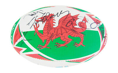 Signed Wales Rugby Ball - World Cup 2019 +COA • 399.99£