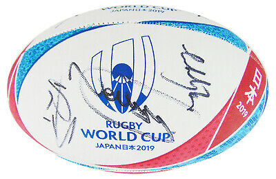 Wales Rugby Signed Ball - World Cup 2019 +COA • 399.99£