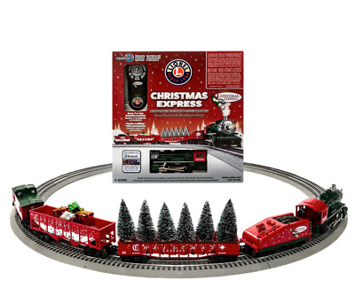 Lionel Christmas Express Electric O Gauge Model Train Set With Remote Bluetooth • 330.70$