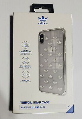 AU13.11 • Buy NEW Adidas Trefoil Snap Case For IPhone X IPhone XS 5.8  - SILVER METALLIC