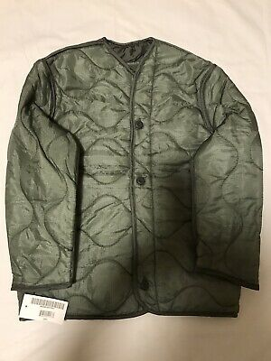 $24.99 • Buy Genuine US G.I.Military M-65 Field Jacket Liner With Buttons New.XSR