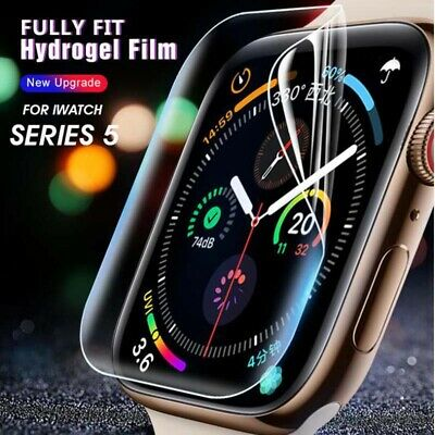 $ CDN1.39 • Buy For Apple Watch 44mm Series 5/4 Clear Film Screen Protector For IWatch 42mm 3/2