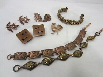 $ CDN35.34 • Buy Vintage Lot Of Copper & Copper Plated Jewelry