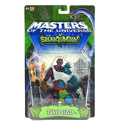 $59.49 • Buy MOTU 200x Snakemen  Two Bad  Master's Of The Universe He-Man