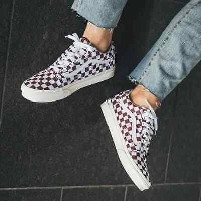 AU49.95 • Buy Vans Old Skool Checkerboard Port Royal Skate Shoes Sneakers Runners Brand New