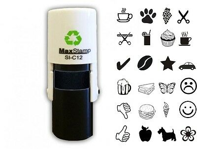 $13.79 • Buy Loyalty Card Rubber Stamp Retail Barber Cafe Small Pocket Sized Maxstamp 10mm