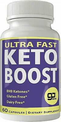 ULTRA FAST KETO BOOST PRO Weight Loss Pills Appetite Control Helps Sleep Better • 29.95$