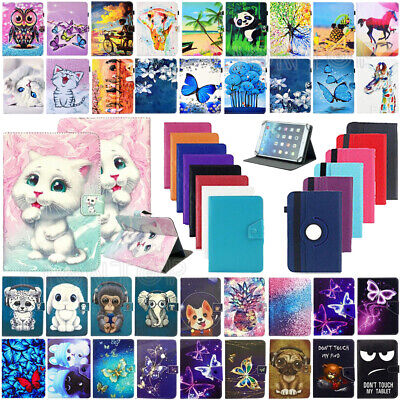 Universal Leather Case Cover For Amazon Kindle Fire 7  9th Generation 2019 Tab • 5.99£