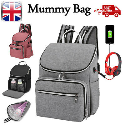 Multi-Function Tote Baby Mummy Bag Changing Bags Diaper Nappy Rucksack Backpack	 • 9.39£