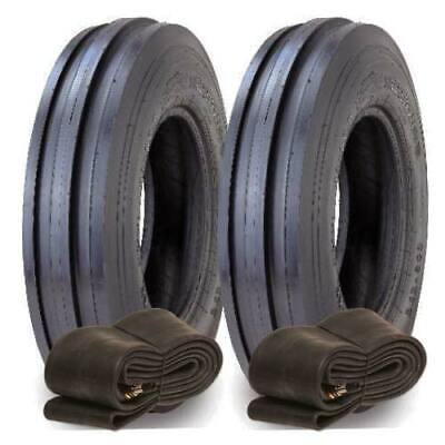 2X 6.00-16 Supreme TF909 Tractor Front Tyres, Agricultural Tyres & Tubes 600-16 • 118.95£