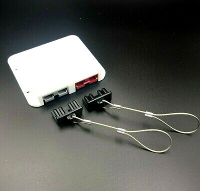 AU59.95 • Buy Double Anderson Plug Surface Mount External Kit External Bolts Red & Grey + Caps