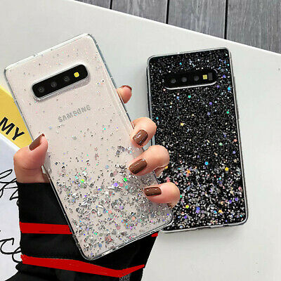 $ CDN4.92 • Buy For Samsung Galaxy S10E S10 S9 S8 Plus Glitter Case Soft Silicone Crystal Cover