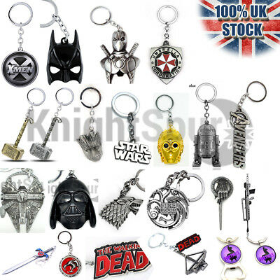 Movie TV Key Rings Bottle Openers Necklaces Pendant Bracelets Chrismtas Gifts  • 3.49£