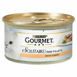 Gourmet Solitaire Premium Fillets With Turkey - 85g - 565530 • 15.78£