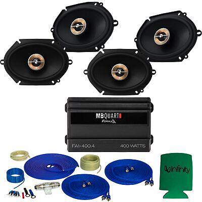 Infinity KAPPA For Ford 97-14 Expedition 2Pair KAPPA-86CFX 6x8  Speakers,Amp,Kit • 339.99$