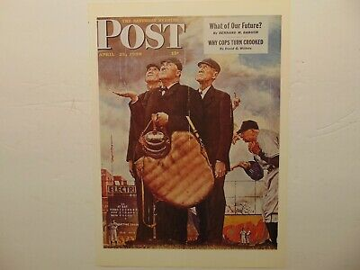 $ CDN8.96 • Buy The Saturday Evening Post April 23,1949  (REPRINT) Norman Rockwell (COVER ONLY)