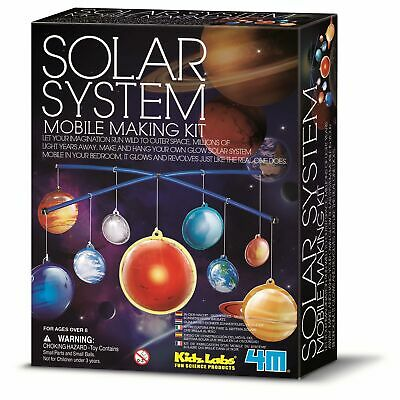 Solar System Mobile Make Your Own Kit Space Science Educational Kids Toy • 12.29£
