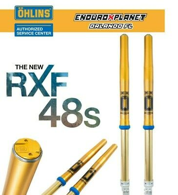 $3050 • Buy OHLINS Front FORK Off-Road RXF48 Husqvarna & KTM 2020 FGKT 2086 **Free Watch**