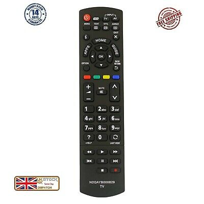 £6.50 • Buy Replacement Remote Control For Panasonic TV