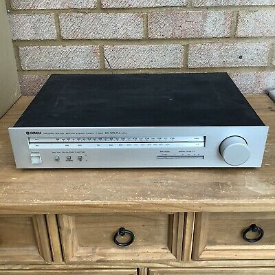 Yamaha T-550 AM FM Stereo Tuner - Vintage 80's - Working • 18.99£
