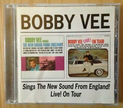 $22 • Buy Bobby Vee New Sound From England/Live On Tour IMPORT CD 2002 Rare OOP BGO EX/NM