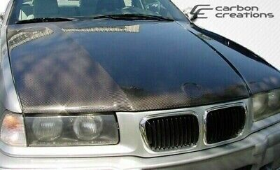 $613 • Buy BMW 3 Series E36 2DR / Convertible 92-98 Carbon Creations Carbon Fiber OEM Hood