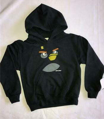 £15.58 • Buy NEW Kid Boy ANGRY BIRDS XS Bomber Face BOMB Hoodie Sweatshirt Shirt Pullover Top