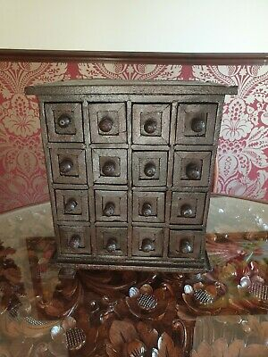 Antique Vintage Miniature Chest Of Drawers Collectors Drawers Apprentice  • 35£
