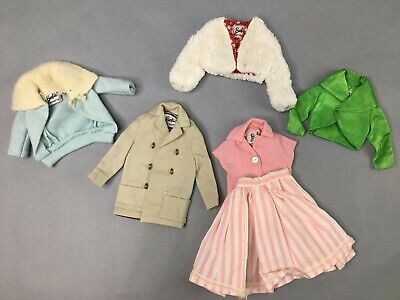 $ CDN46.67 • Buy Barbie Doll Clothes Vintage Used Lot 1960s Styles