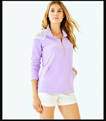 NWT Lilly Pulitzer Skipper Popover Size Small Lilac Verbena New With Flaw  • 29.99$