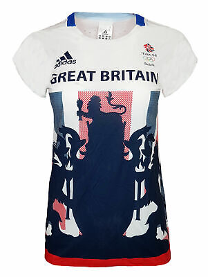 Adidas Response T Shirt Womens 18 Team GB Olympics Running Gym • 9.99£