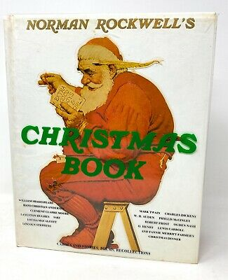 $ CDN19.99 • Buy Norman Rockwell's Christmas Book 1977 Hardcover Book Torn Dust Jacket Abrams NY