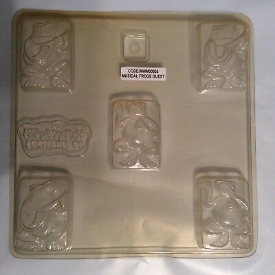 $5.50 • Buy Milky Way Molds, Musical Frogs, 5 Cavity, 2 Designs, Soap Mould. NEW  #55