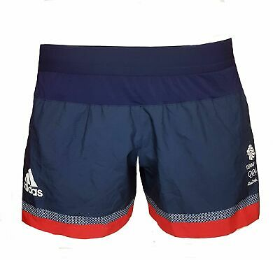 Adidas Reponse 4 Inch Running Shorts Womens 20 Team GB Training Gym • 12.99£