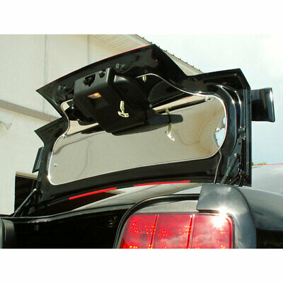 $244.97 • Buy Trunk Panel For 2005-2009 Ford Mustang V6/GT [Stainless Steel/Polished]