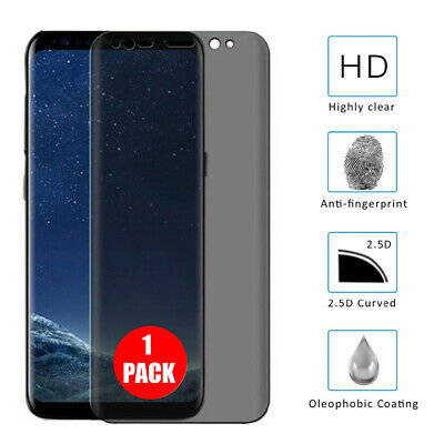 $ CDN5.30 • Buy For Samsung Galaxy S9 S8 Plus Privacy Tempered Glass Anti-Spy Screen Protector
