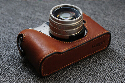 $ CDN59.51 • Buy Funper Genuine Leather Half Case For Contax G1 Camera Protector