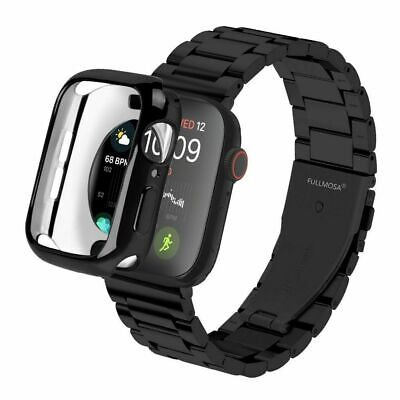 $ CDN23.56 • Buy TPU Case For Apple Watch Series 4 40mm 44mm Rubber Protective Bumper Cover