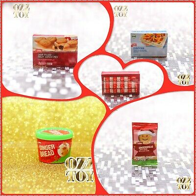 $13.87 • Buy Coles Little Shop 1&2 Mini Collectables Full Set Christmas Edition Without Case