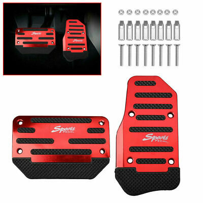 $4.73 • Buy Universal Red Non-Slip Automatic Pedal Brake Foot Treadle Cover Car Accessories