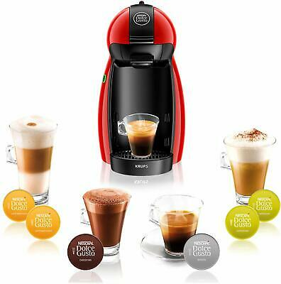 Nescafe Dolce Gusto Krups Piccolo XS Coffee Machine - Red • 54.66$