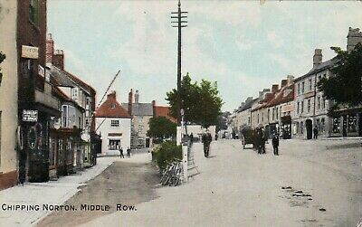 £4.99 • Buy MIDDLE ROW, CHIPPING NORTON, OXFORDSHIRE : POSTCARD (c1910)