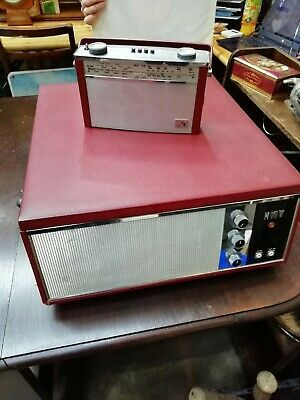 Vintage HMV Record Player & Transistor Radio (turntable) 1950s/1960s • 180£