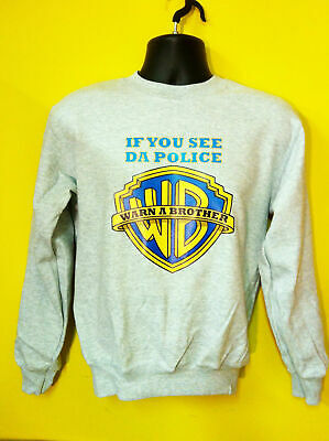 If You See Da Police, Warn A Brother Hip Hop Music Sweatshirt Jumper S-3XL Sizes • 15.99£