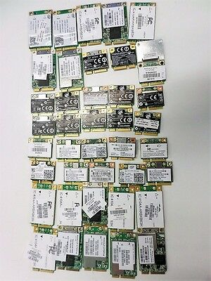 $ CDN121.34 • Buy Lot Of 40 Various HP Wifi Cards For Laptops Wireless Network Wi-Fi Adapters
