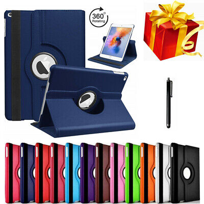 $8.86 • Buy For IPad Air 1 2 Shockproof Case Cover 360 PU Rotating Leather Folio Stand