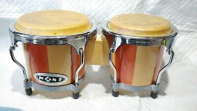 Mano Percussion  Bongo Drums Wood Junior 4  And 5    • 5.50$